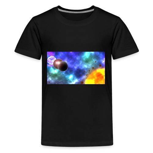 Custom-made planets - Kids' Premium T-Shirt