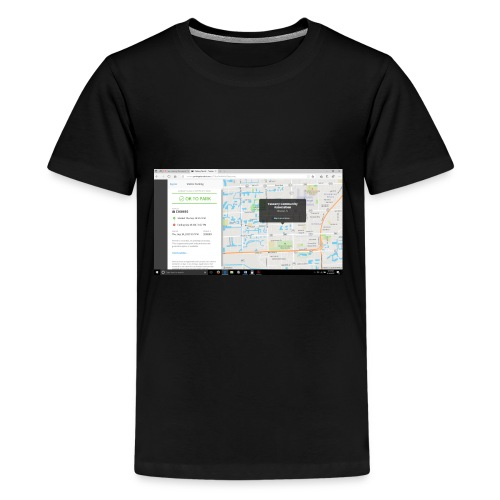 PARKING JO - Kids' Premium T-Shirt