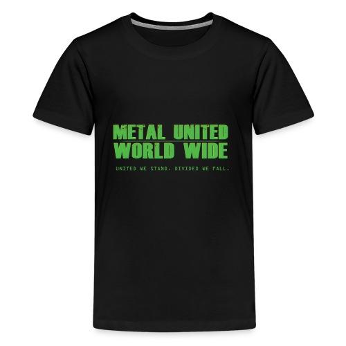 Metal United World Wide (green) - Kids' Premium T-Shirt