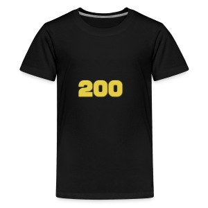 200 Subscriber Merch!!! - Kids' Premium T-Shirt