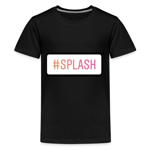 Splash Long sleeves - Kids' Premium T-Shirt