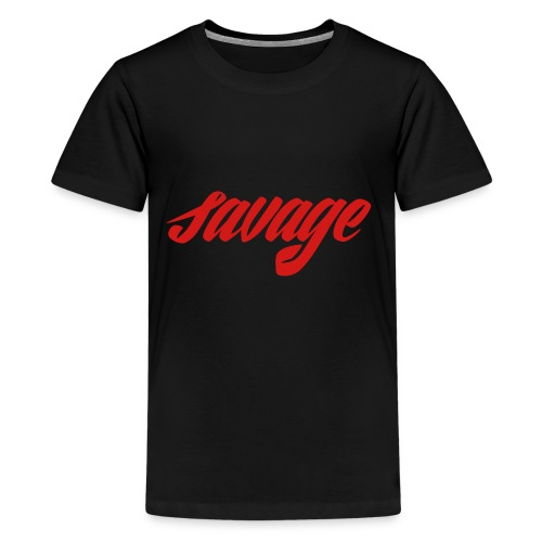 savage dude - Kids' Premium T-Shirt