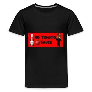 NO Tomato Sauce - Kids' Premium T-Shirt