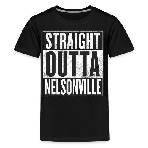 Straight Outta Nelsonville - Kids' Premium T-Shirt