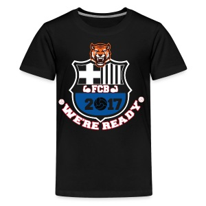 FC Barcelona Football Shirts 2017 - Kids' Premium T-Shirt