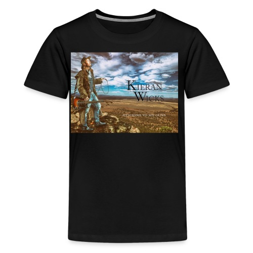Sticking to My Guns by Kieran Wicks Album Cover - Kids' Premium T-Shirt