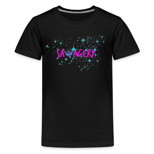 Savagery Merch - Kids' Premium T-Shirt