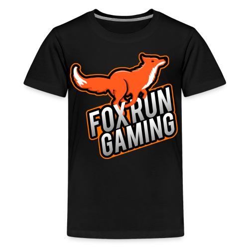 FoxRunGaming Logo - Kids' Premium T-Shirt
