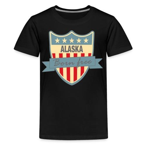 Alaska Born Free Ramirez - Kids' Premium T-Shirt