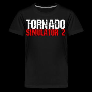 Tornado Simulator 2 T-Shirt - Kids' Premium T-Shirt