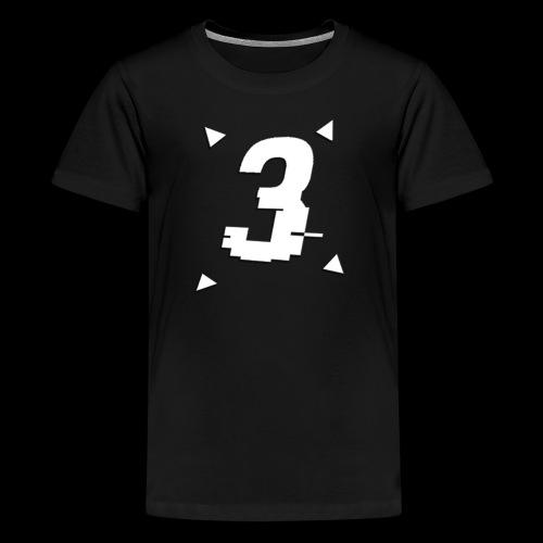 3 Triangle Logo - Kids' Premium T-Shirt