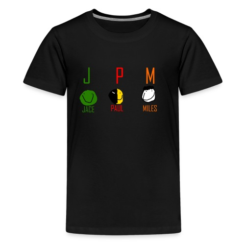 JPM merch logo 1 - Kids' Premium T-Shirt