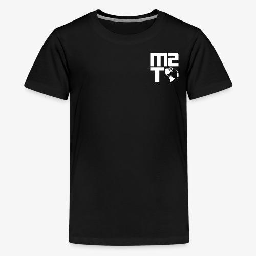 Married To The World - White Logo - Kids' Premium T-Shirt