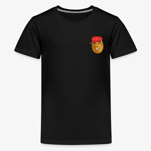 maga potato logo - Kids' Premium T-Shirt