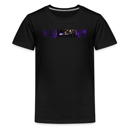 KadinNation Text - Kids' Premium T-Shirt