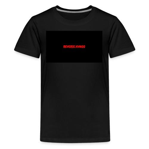 OFFICIAL REVERSE.KVNGGG - Kids' Premium T-Shirt