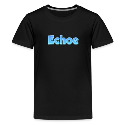 Echoe's Text Logo - Kids' Premium T-Shirt