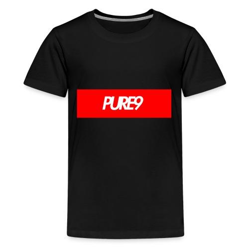 Pure9 Supreme Box Logo - Kids' Premium T-Shirt