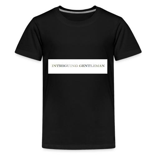 Intriguing Gentleman Tee - Kids' Premium T-Shirt