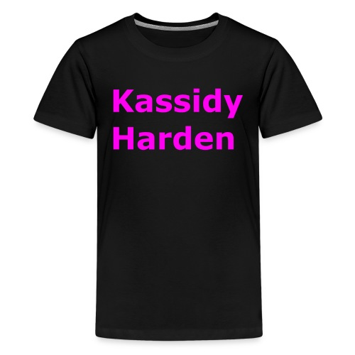 Kassidy Harden - Kids' Premium T-Shirt