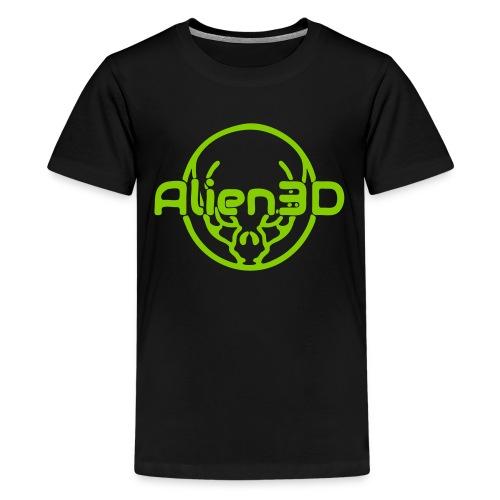 Alien3D Logo - Kids' Premium T-Shirt