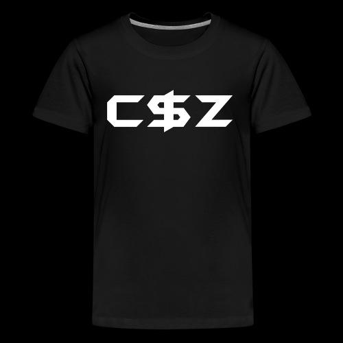 C$Z B&W - Kids' Premium T-Shirt