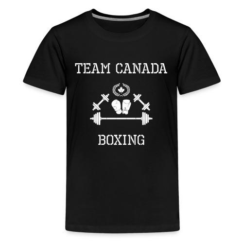 Team Canada Boxing - Kids' Premium T-Shirt