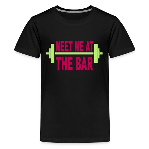 meet_me_at_the_bar_2_spreadsheet - Kids' Premium T-Shirt