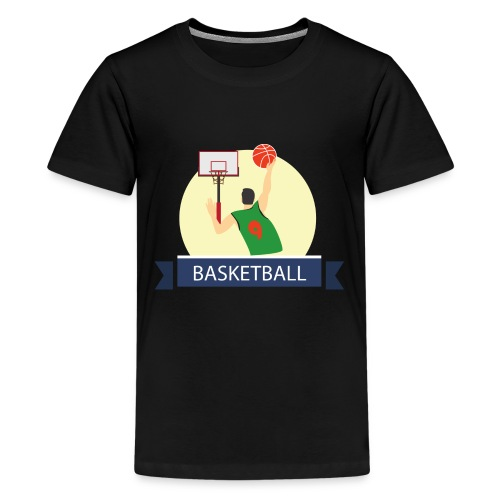 Basketball - Kids' Premium T-Shirt