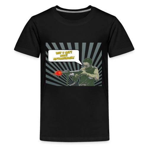 GENERAL VANG PAO BAZOKAA - Kids' Premium T-Shirt