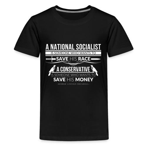 A National Socialist - Kids' Premium T-Shirt