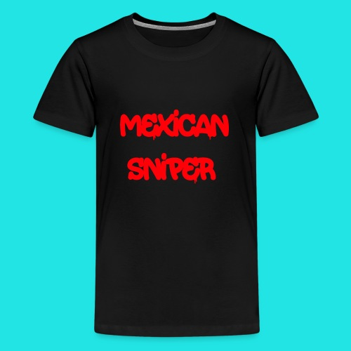 Mexican Sniper Graffiti - Kids' Premium T-Shirt