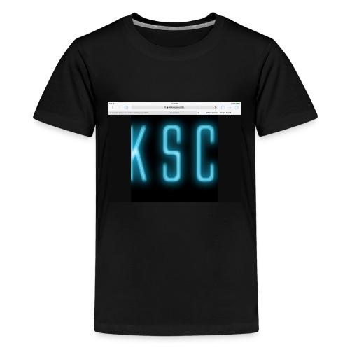 Killerspacecats logo merch - Kids' Premium T-Shirt