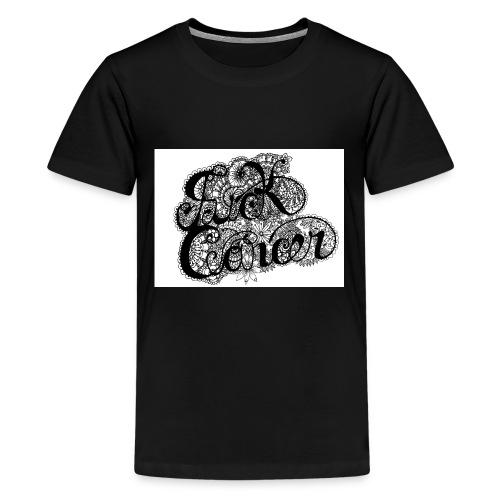 fuck_cancaer_final_001 - Kids' Premium T-Shirt