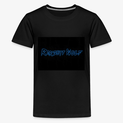 Rakshit Wolf - Kids' Premium T-Shirt