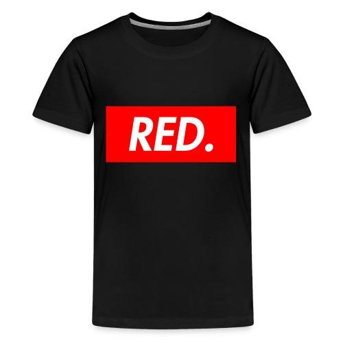Red. - Kids' Premium T-Shirt