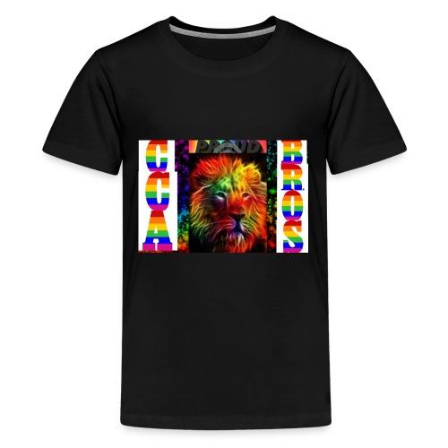 proud lion - Kids' Premium T-Shirt