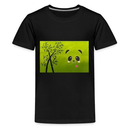 panda cuteness - Kids' Premium T-Shirt