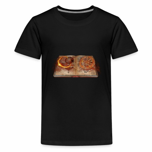 book of magic - Kids' Premium T-Shirt