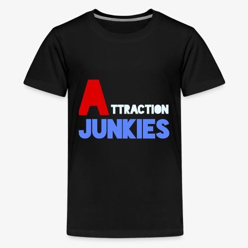 Attraction Junkies Merch - Kids' Premium T-Shirt