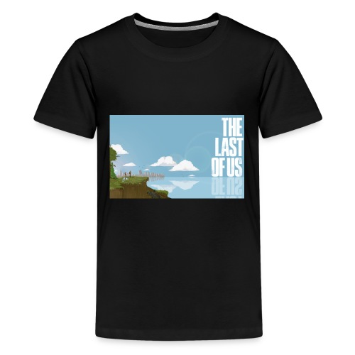 The Last of Us 8-bit - Kids' Premium T-Shirt