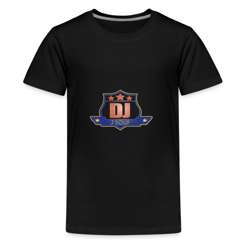 DJ_J_Soup_Blue - Kids' Premium T-Shirt