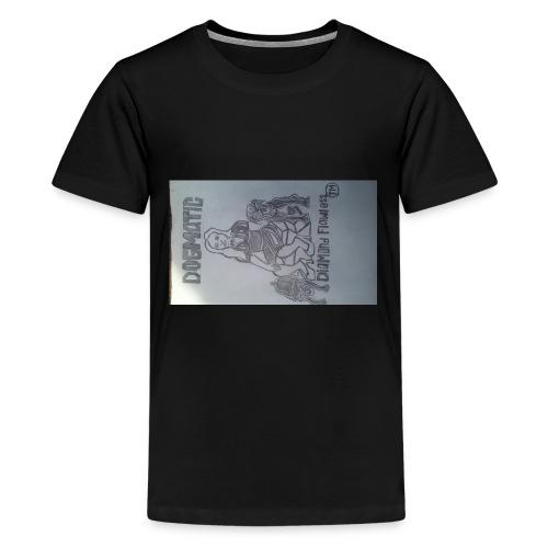 20160824_155409queen wear high profile staying 100 - Kids' Premium T-Shirt