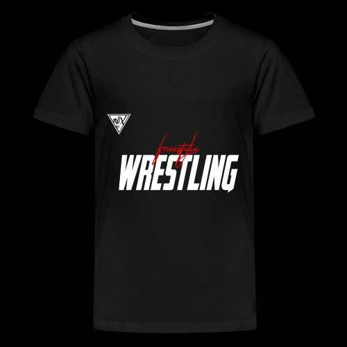 freestyle wrestling - Kids' Premium T-Shirt