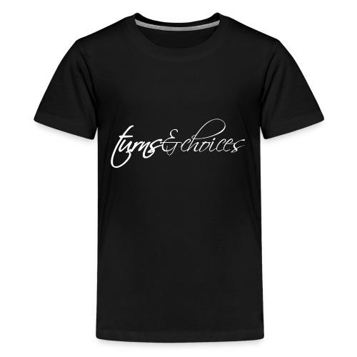 Turns & Choices - Kids' Premium T-Shirt