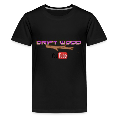 Drift Wood Official Merchandise WHITE - Kids' Premium T-Shirt