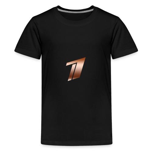 Channel One Logo Design - Kids' Premium T-Shirt