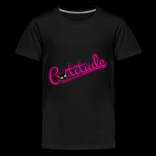 Catitude - Kids' Premium T-Shirt