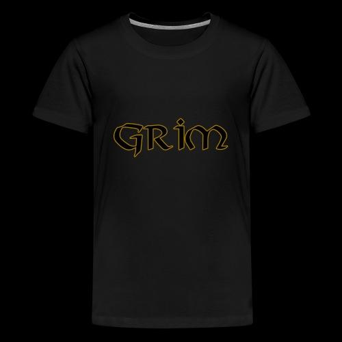 Grim Gold edge black interior - Kids' Premium T-Shirt