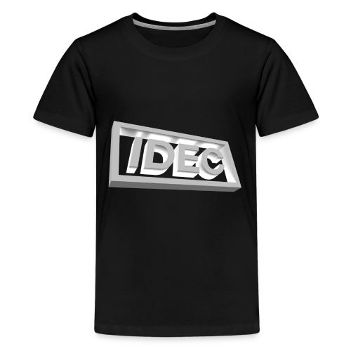 3D IDEC Logo - Kids' Premium T-Shirt